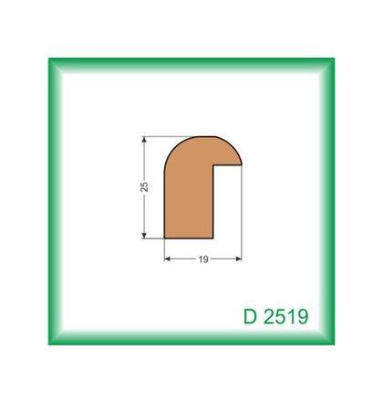 Lišta D2519
