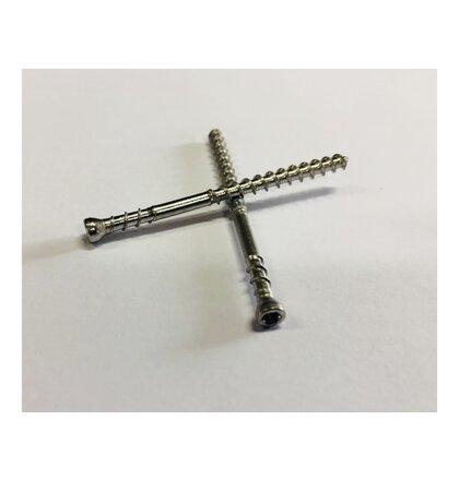 Camo terasové vruty TX15 inox A2 - 60x4,2mm (350ks) nerez