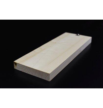 Smreková doska 28x146x4000 mm AB
