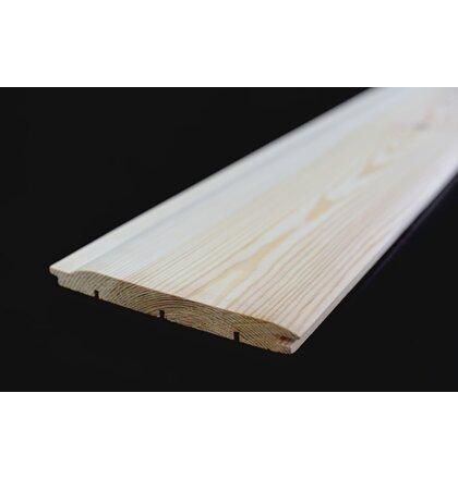 Zrubový profil borovica 19x186x4000 mm AB