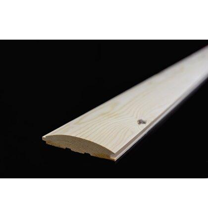 Zrubový profil severská borovica 28x146x4000 mm AB